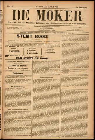 De Moker 1905-07-01