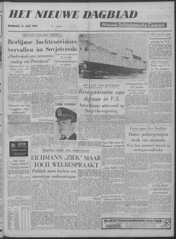Nieuwe Schiedamsche Courant 1961-07-11