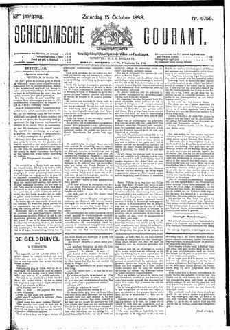 Schiedamsche Courant 1898-10-15