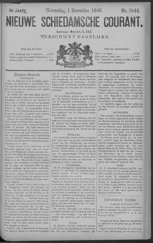 Nieuwe Schiedamsche Courant 1886-12-01