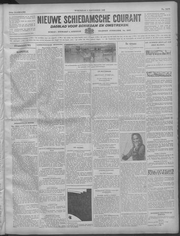 Nieuwe Schiedamsche Courant 1932-11-02