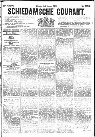 Schiedamsche Courant 1910-01-30