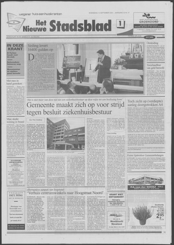 Het Nieuwe Stadsblad 2001-09-12