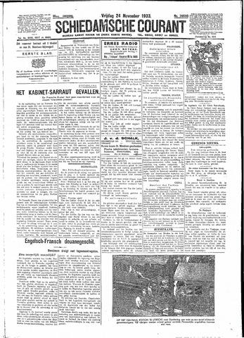 Schiedamsche Courant 1933-11-24