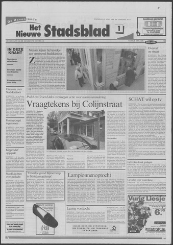 Het Nieuwe Stadsblad 1998-04-22