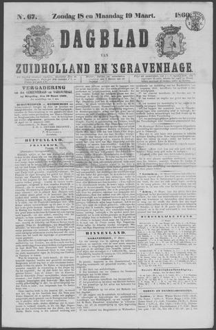 Dagblad van Zuid-Holland 1860-03-18