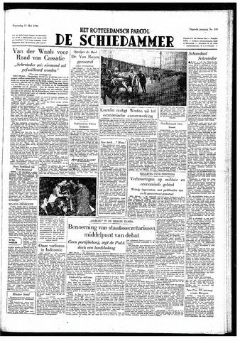 Rotterdamsch Parool / De Schiedammer 1949-05-11
