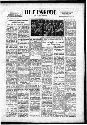 Rotterdamsch Parool / De Schiedammer 1946-10-03