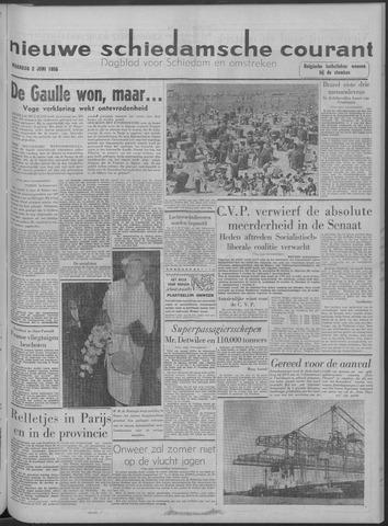 Nieuwe Schiedamsche Courant 1958-06-02