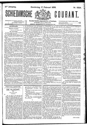 Schiedamsche Courant 1898-02-17