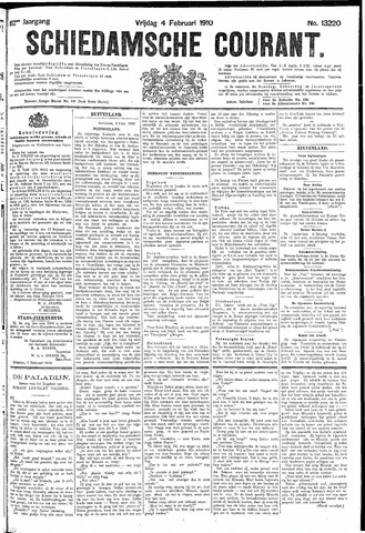 Schiedamsche Courant 1910-02-04