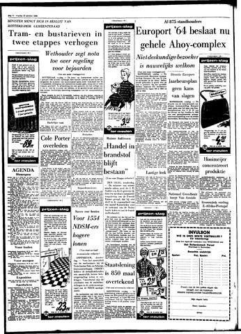 Rotterdamsch Parool / De Schiedammer 1964-10-16