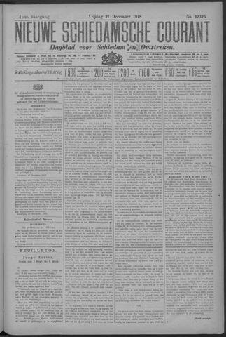 Nieuwe Schiedamsche Courant 1918-12-27