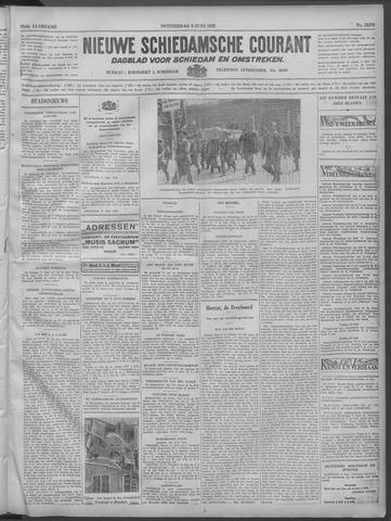 Nieuwe Schiedamsche Courant 1932-06-09