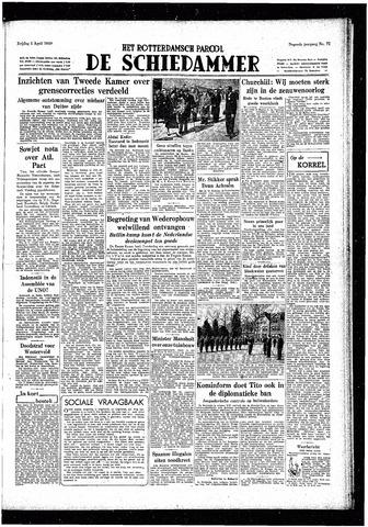 Rotterdamsch Parool / De Schiedammer 1949-04-01