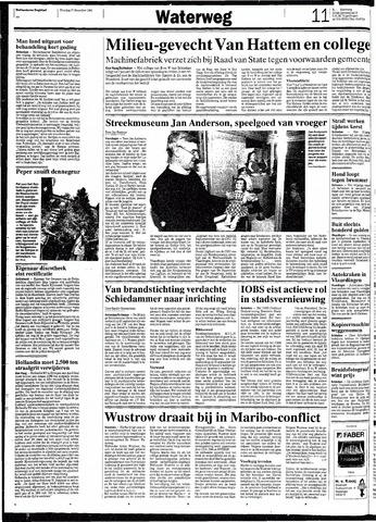 Rotterdamsch Nieuwsblad / Schiedamsche Courant / Rotterdams Dagblad / Waterweg / Algemeen Dagblad 1991-12-17