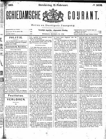 Schiedamsche Courant 1883-02-15