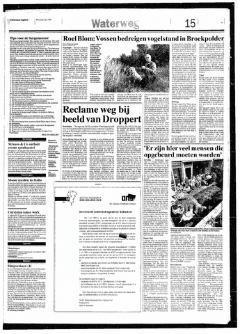 Rotterdamsch Nieuwsblad / Schiedamsche Courant / Rotterdams Dagblad / Waterweg / Algemeen Dagblad 1993-07-07