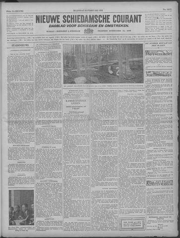 Nieuwe Schiedamsche Courant 1933-02-20