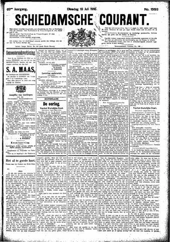 Schiedamsche Courant 1916-07-18