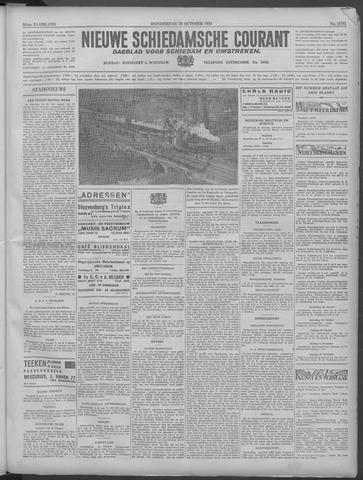 Nieuwe Schiedamsche Courant 1933-10-26