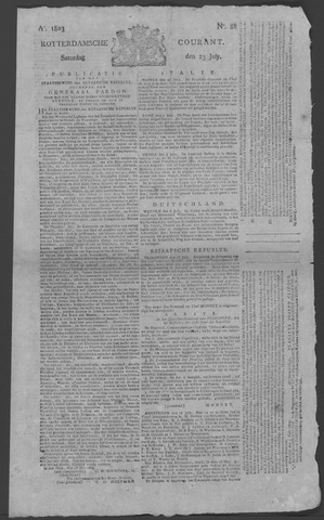 Rotterdamse Courant 1803