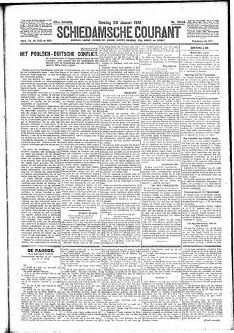 Schiedamsche Courant 1931-01-20