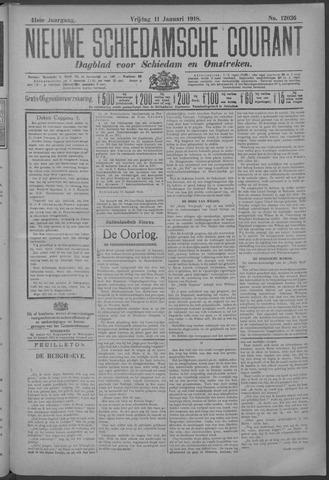 Nieuwe Schiedamsche Courant 1918-01-11