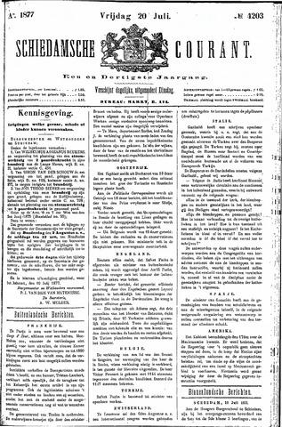 Schiedamsche Courant 1877-07-20