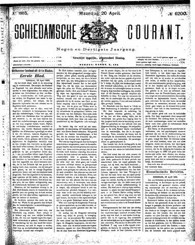 Schiedamsche Courant 1885-04-20