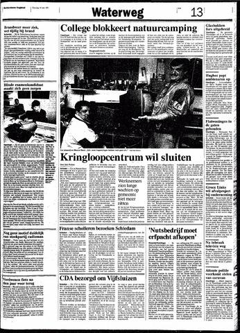 Rotterdamsch Nieuwsblad / Schiedamsche Courant / Rotterdams Dagblad / Waterweg / Algemeen Dagblad 1991-05-14