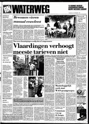 Rotterdamsch Nieuwsblad / Schiedamsche Courant / Rotterdams Dagblad / Waterweg / Algemeen Dagblad 1983-09-26