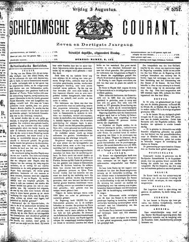 Schiedamsche Courant 1883-08-03