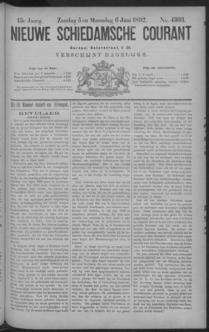 Nieuwe Schiedamsche Courant 1892-06-06