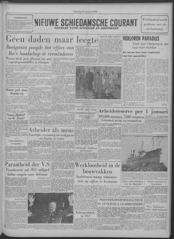 Nieuwe Schiedamsche Courant 1958-01-11