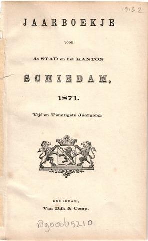 Schiedams Jaarboek 1871-01-01