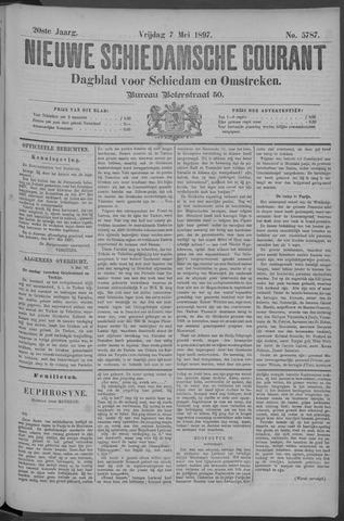 Nieuwe Schiedamsche Courant 1897-05-07
