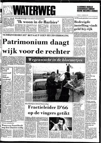 Rotterdamsch Nieuwsblad / Schiedamsche Courant / Rotterdams Dagblad / Waterweg / Algemeen Dagblad 1983-02-11