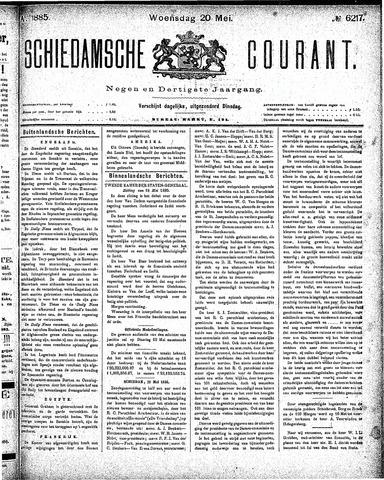 Schiedamsche Courant 1885-05-20