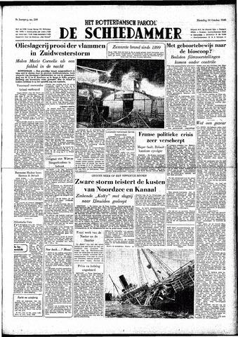 Rotterdamsch Parool / De Schiedammer 1949-10-24
