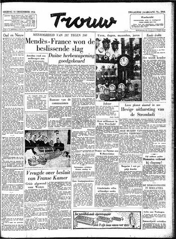 Trouw / De Rotterdammer 1954-12-31