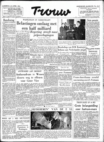 Trouw / De Rotterdammer 1955-04-23