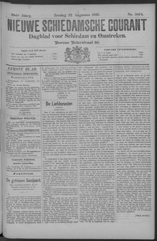 Nieuwe Schiedamsche Courant 1897-08-22