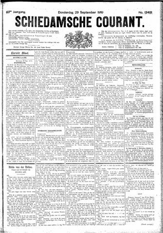 Schiedamsche Courant 1910-09-29