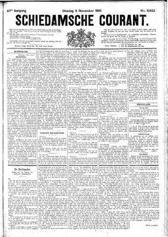 Schiedamsche Courant 1910-11-08