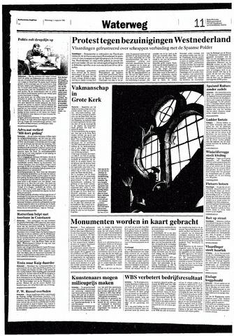 Rotterdamsch Nieuwsblad / Schiedamsche Courant / Rotterdams Dagblad / Waterweg / Algemeen Dagblad 1993-08-11