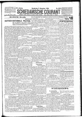 Schiedamsche Courant 1931-12-03