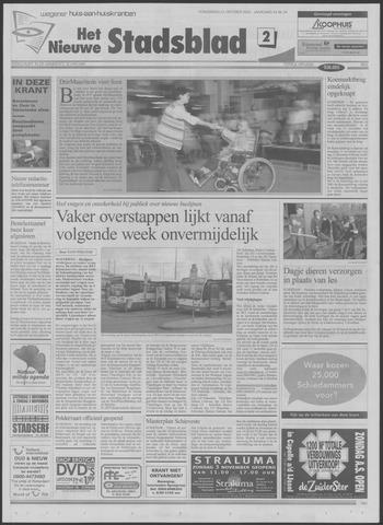 Het Nieuwe Stadsblad 2002-10-31