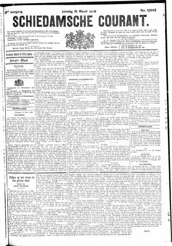 Schiedamsche Courant 1908-03-15