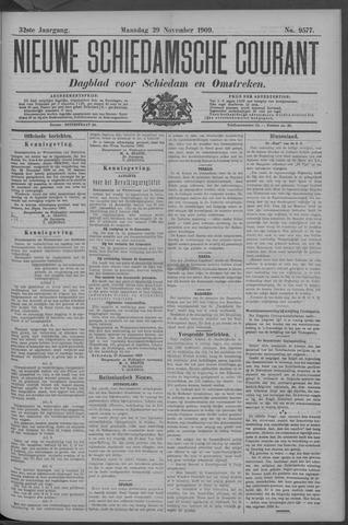 Nieuwe Schiedamsche Courant 1909-11-29